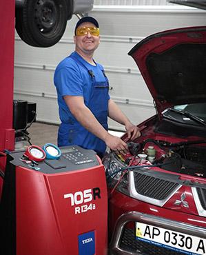 Zapravku, diagnostiku i remont kondicionerov avto, v avtoservis «MiraKС»